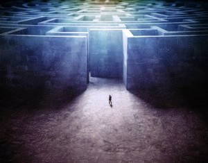 perdersi man-in-labyrinth-300x235